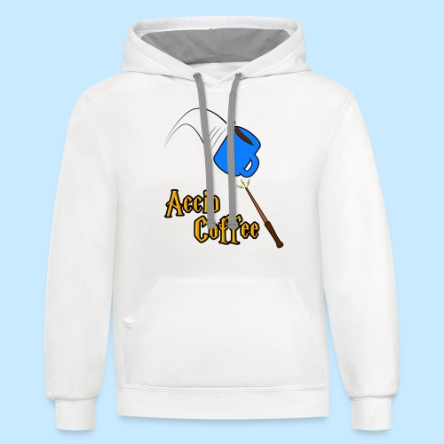 Accio Coffee! (Double Sided) - Contrast Hoodie
