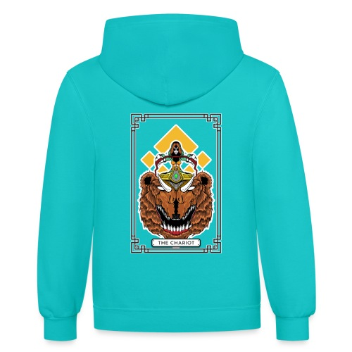 THE CHARIOT - Contrast Hoodie