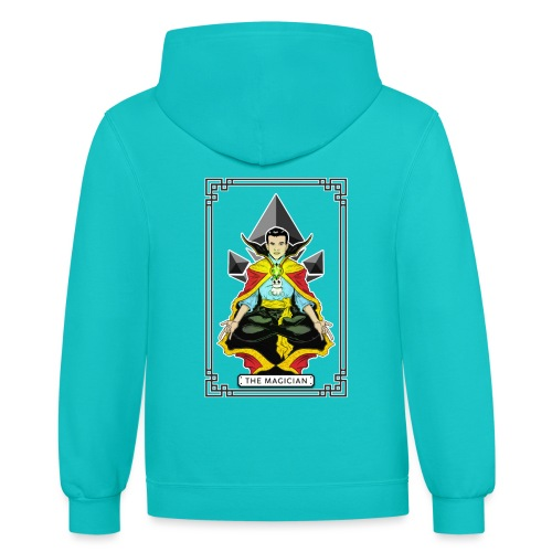 THE MAGICIAN - Contrast Hoodie