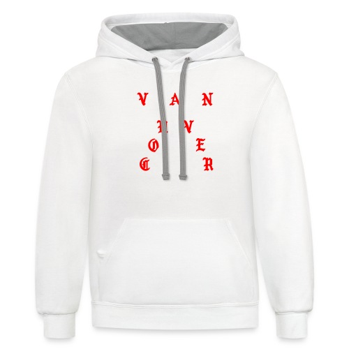 No More Parties in BC - Unisex Contrast Hoodie
