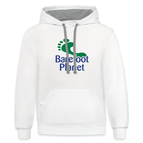Get Out & Run Barefoot Women's T-Shirts - Contrast Hoodie
