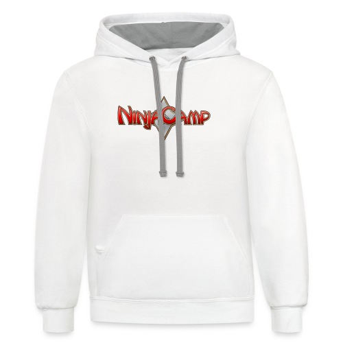 NC Logo for Dark Products - Contrast Hoodie