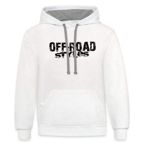 Remember Motocross Long Sleeve Shirts - Contrast Hoodie