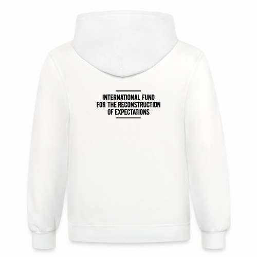 International Fund for The Reconstruction of Expec - Contrast Hoodie