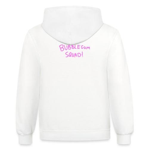 Bubblegum Squad - Unisex Contrast Hoodie