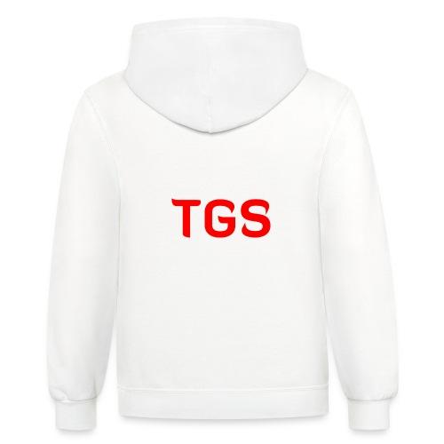 TGS Logo - Unisex Contrast Hoodie