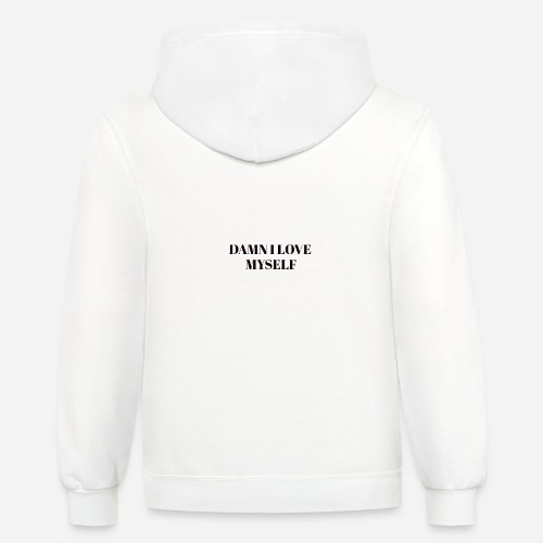 Queen have arrived hater take a sit - Contrast Hoodie