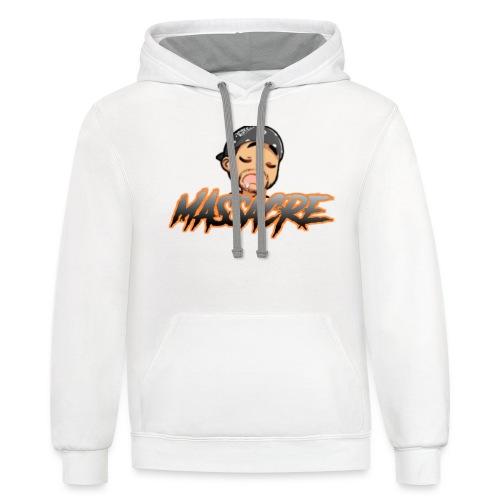 MASSX3 - Contrast Hoodie