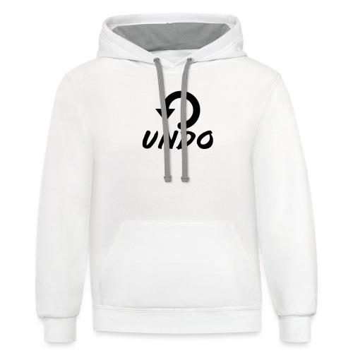 UNDO MERCH - Unisex Contrast Hoodie