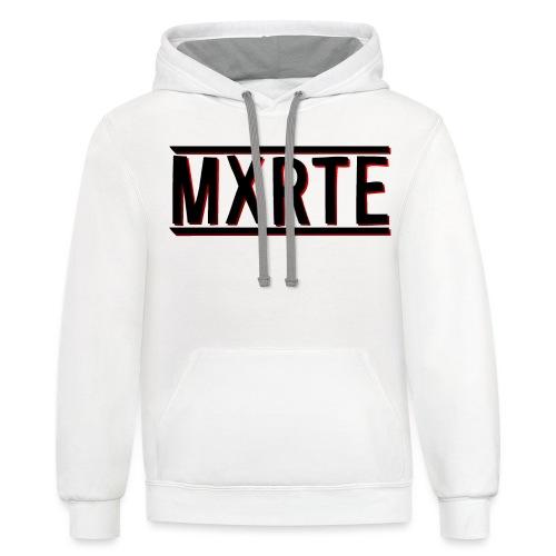 MXRTE - Contrast Hoodie