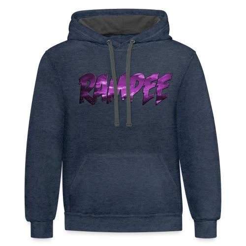 Purple Cloud Rampee - Contrast Hoodie