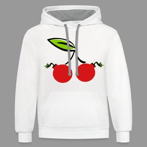 Cherry Bomb - Contrast Hoodie