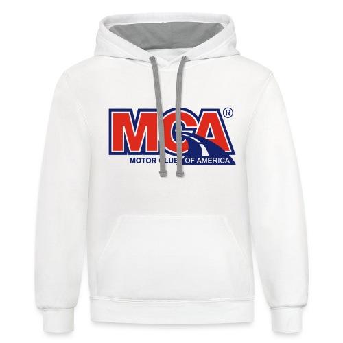 MCA_Logo_WBG_Transparent - Contrast Hoodie
