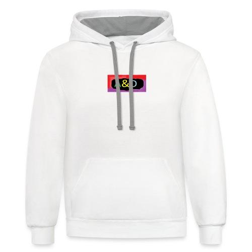 A&D hoodies - Contrast Hoodie