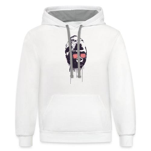 xray gorilla - Unisex Contrast Hoodie