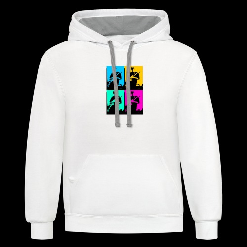 LGBT Support - Contrast Hoodie