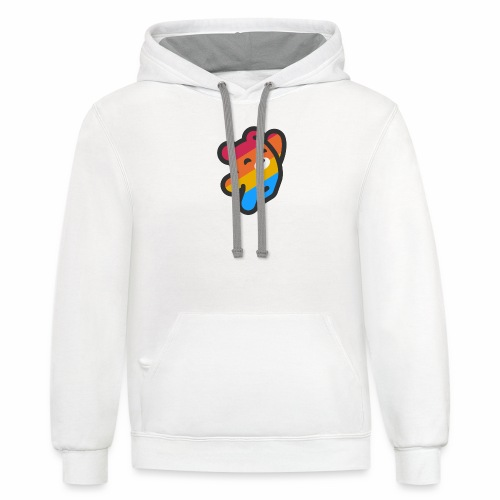 fire as life - Unisex Contrast Hoodie