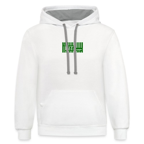 The Pot Shoppe Logo - Contrast Hoodie