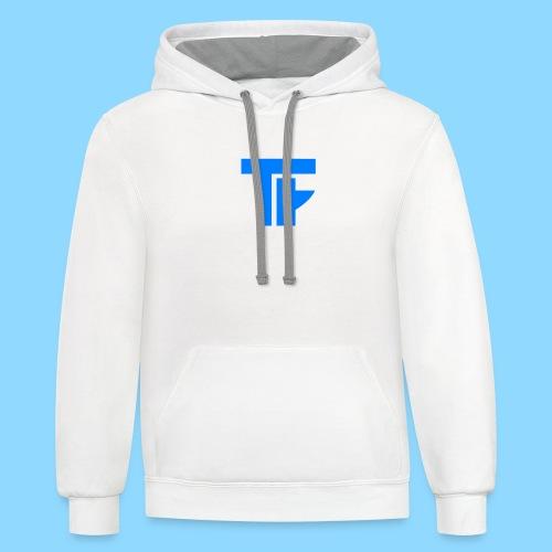 Team Friction Logo - Unisex Contrast Hoodie