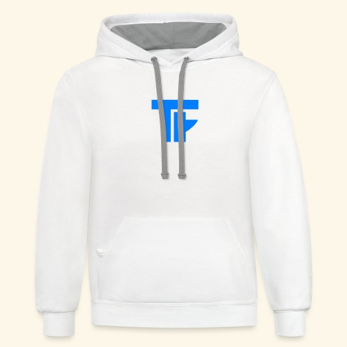 Team Friction Logo - Contrast Hoodie