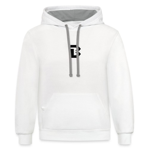 Click here for clothing and stuff - Unisex Contrast Hoodie