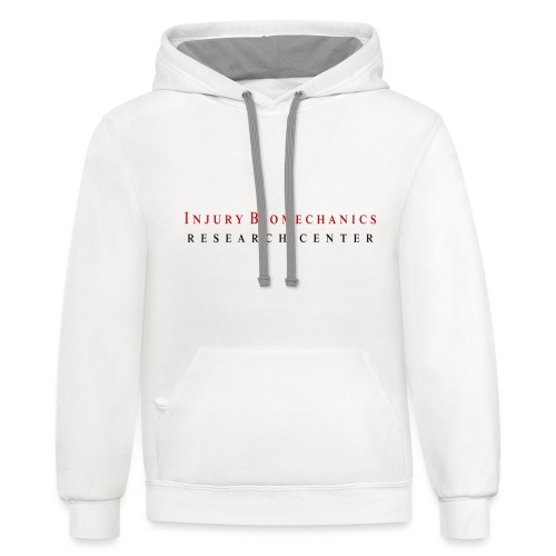 IBRC Classic with Buckle Up Brutus Back - Unisex Contrast Hoodie