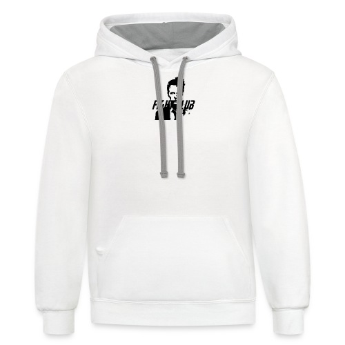 Fight Club Premium T-Shirt (Men) - Unisex Contrast Hoodie