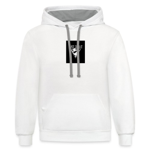 funny, cool and exciting - Contrast Hoodie