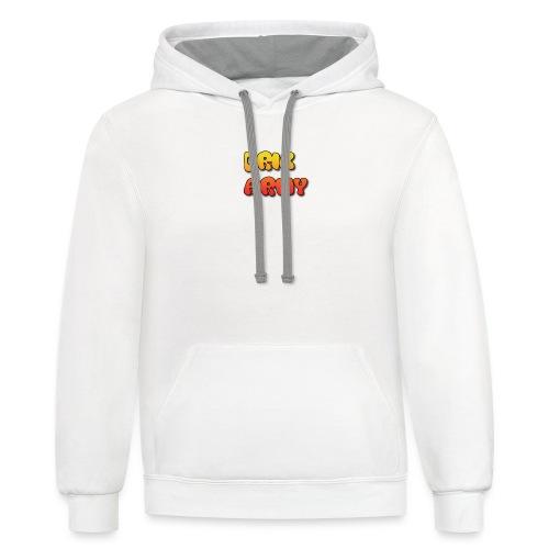 Drik Army T-Shirt - Contrast Hoodie