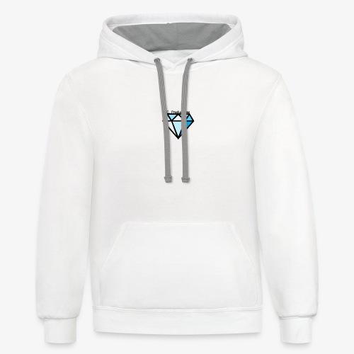 C. Productions Diamond Logo - Contrast Hoodie