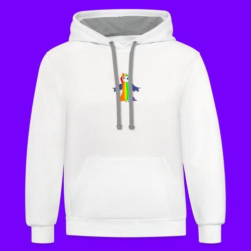 RPL women's hoodie - Unisex Contrast Hoodie