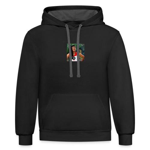 Oromia-T-Shirts - Contrast Hoodie