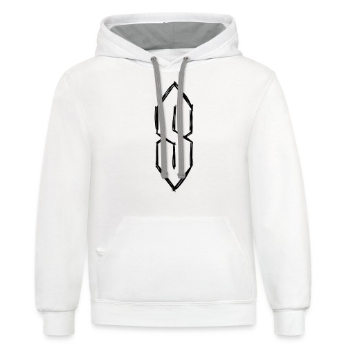 Cool S, Super S - School Tag/Graffiti - Unisex Contrast Hoodie