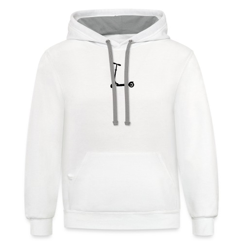 booter - Contrast Hoodie
