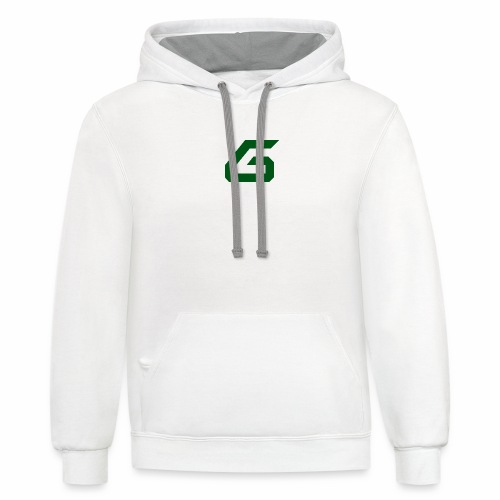 The New Era M/V Sweatshirt Logo - Green - Contrast Hoodie
