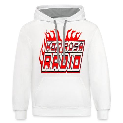 worlds #1 radio station net work - Unisex Contrast Hoodie
