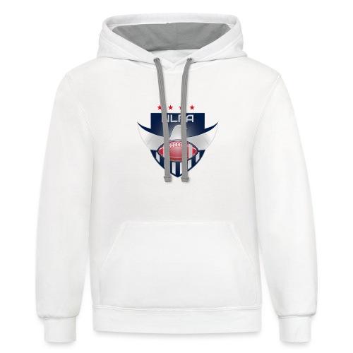 NLFA Logo - Contrast Hoodie