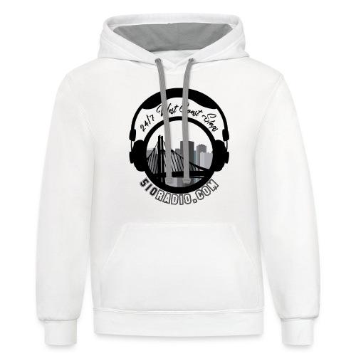 510radio.com Clothing - Unisex Contrast Hoodie