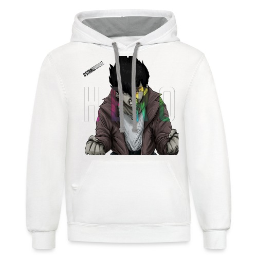 Stand For All - Contrast Hoodie