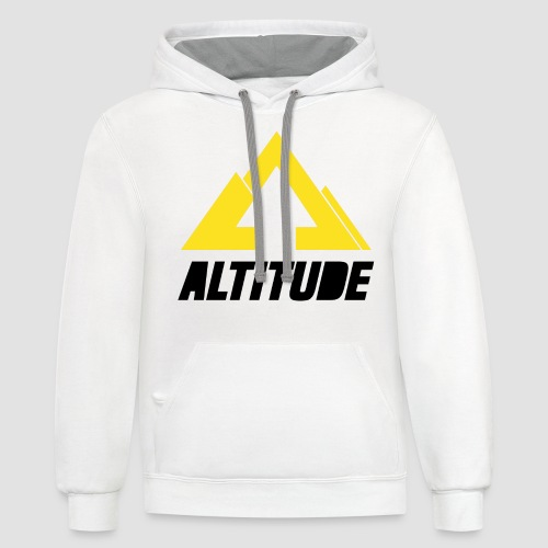 Empire Collection - Yellow 2 - Unisex Contrast Hoodie