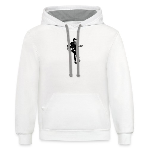 Mr Johnson - Unisex Contrast Hoodie