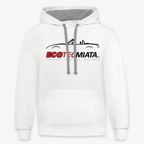 Ecotec Miata Logo - Contrast Hoodie