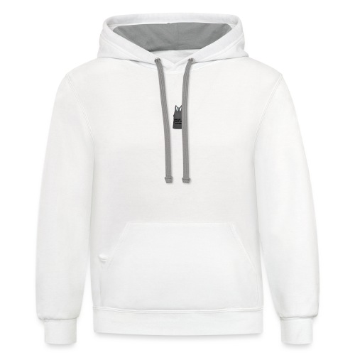 Sweat is just fat crying - Contrast Hoodie