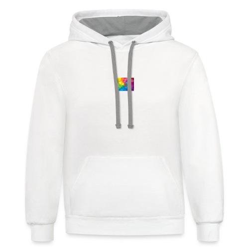 Channel logo - Contrast Hoodie