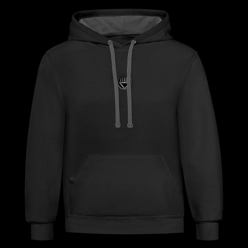 Knight654 Logo - Contrast Hoodie