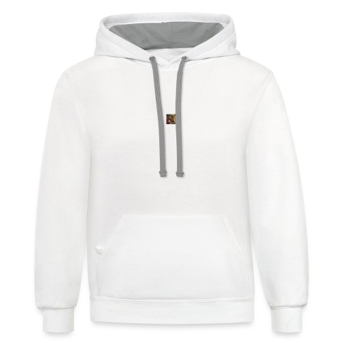 Cursed collection oui oui - Unisex Contrast Hoodie