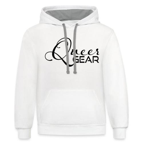 Queer Gear T-Shirt 03 - Contrast Hoodie
