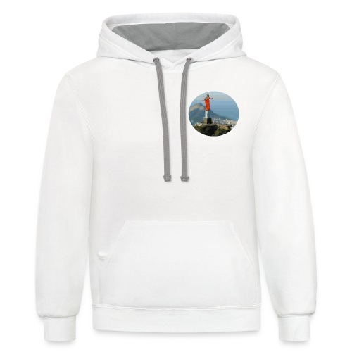 Pascal the Redeemer - Unisex Contrast Hoodie