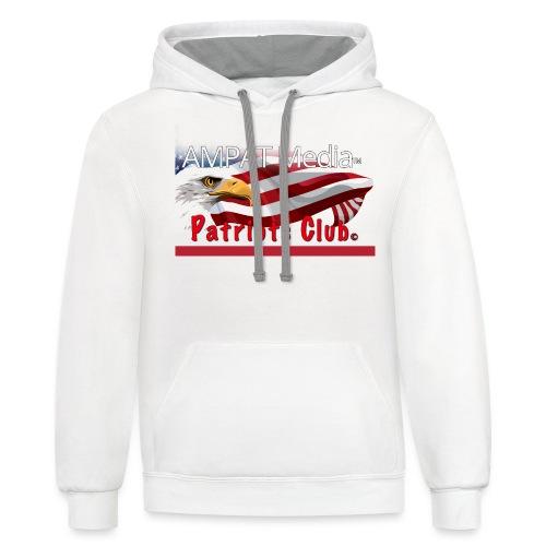 AMPAT Patriot Club - Unisex Contrast Hoodie