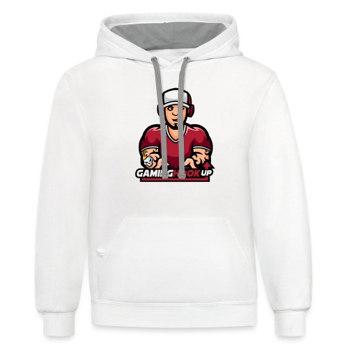 Your One Stop GamingHookup - Contrast Hoodie